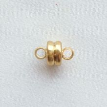 Gold Plated Clasp 7mm Magnetic - 1